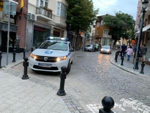 Полицейска акция на златарската улица в Пловдив