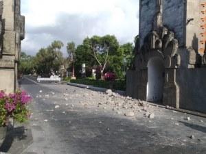 Силен трус в Индонезия! Има нанесени щети по жилища и храмове