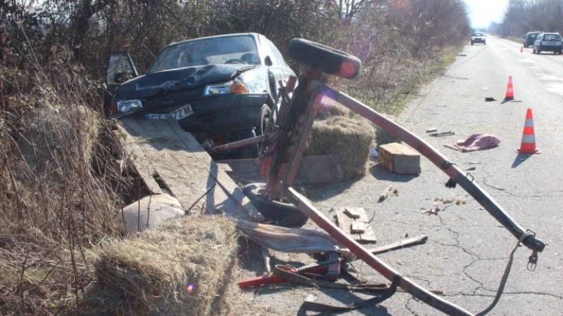 Млад мъж загина в тежък сблъсък на подбалканския път