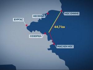 31-годишен мъж преплува Бургаския залив за 14 часа