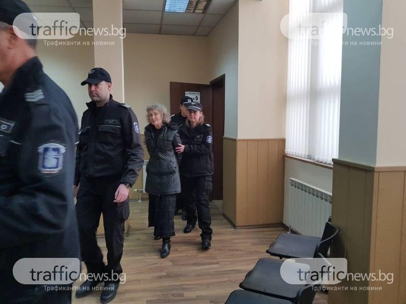 67-годишната жена, убила мъжа си край Пловдив, атакува ареста си