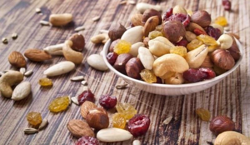 Как изглеждат 100 калории в плодовете, ядките и зеленчуците?