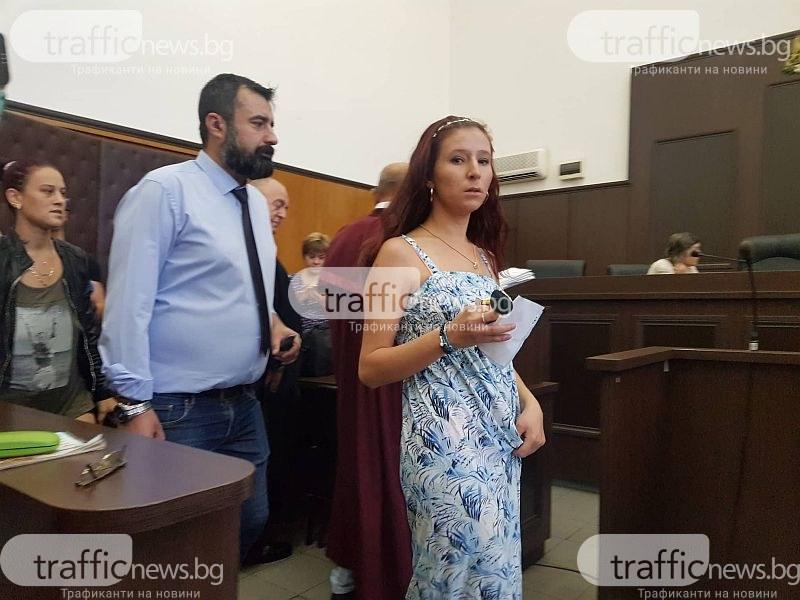 Жената на Плъха се появи в съда, д-р Димитров бе посрещнат с аплодисменти