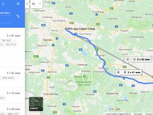 Проверяваме маршрута и разписанието на БДЖ вече и през Google Maps