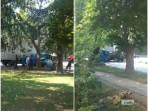 Тежка катастрофа на околовръстното в Карлово, пътят е отцепен