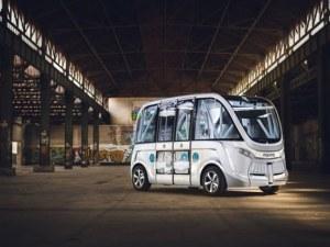 Безпилотен автобус блъсна пешеходец във Виена