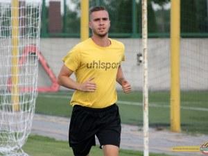 Новият на Ботев в групата за мача с Дунав