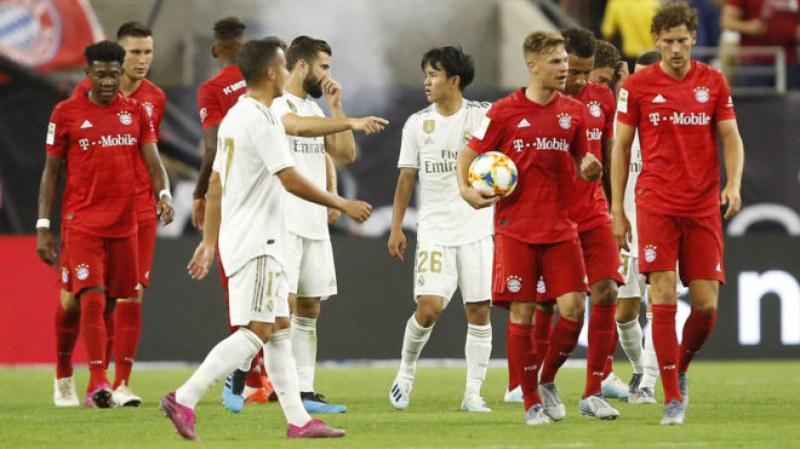 Байерн вгорчи дебюта на Азар в Реал