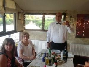 Лимузина за 70-годишния юбилей на първия треньор на Стефка