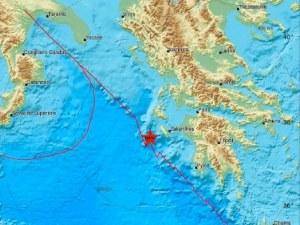 Пак земетресение в Гърция, този път до Закинтос