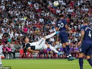 Тотнъм попари Ювентус с феноменален гол от центъра