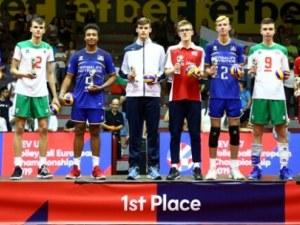 Двама българи в Идеалния отбор на европейското по волейбол