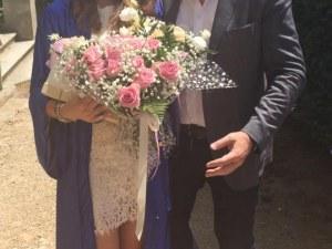 Христо Сираков показа снимки с дъщеря си на дипломирането й