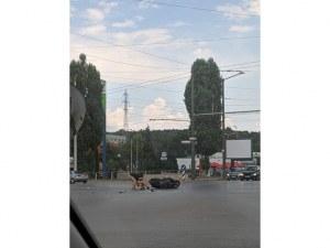 Тежка катастрофа между кола и мотоциклет в столичен квартал