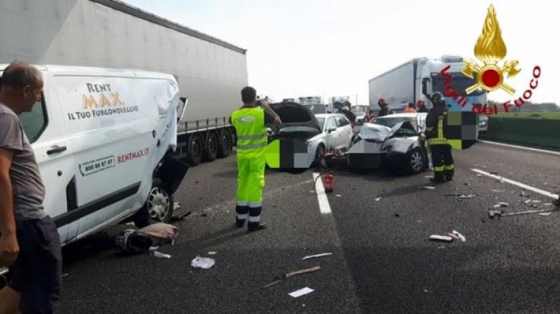 Българин загина при меле на пътя в Италия