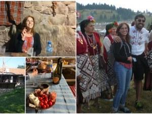 Пловдивчанка нагости с родопски гозби и ракия американската сензация на Рожен - Рейчъл