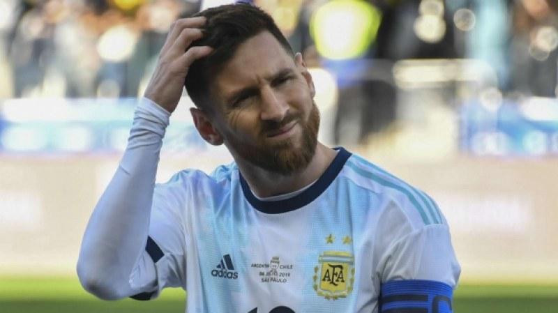 Меси се размина само с глоба за критиките си срещу Копа Америка