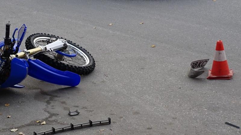 Тежка катастрофа, моторист загина край Търговище