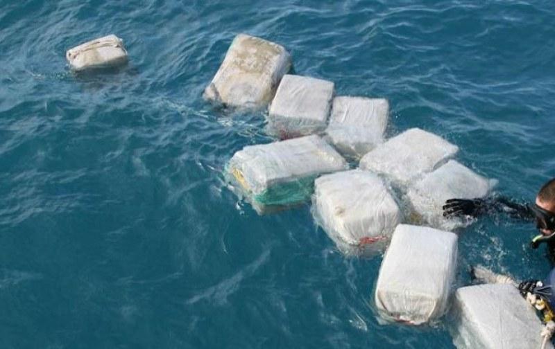 Серия акции в Тихия океан: Иззеха кокаин за 350 милиона долара