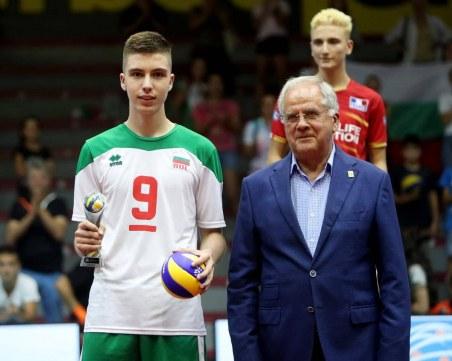 Пловдивски талант води новата златна генерация във волейбола