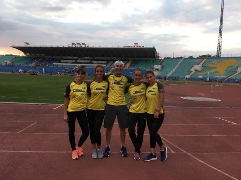 Млад пловдивски клуб стана номер 1 на държавното – с 5-ма атлети и 2-ма треньори