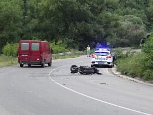 Моторист пострада при катастрофа с ТИР в Кресненското дефиле