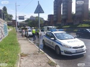 Тежка катастрофа на Коматевския възел в Пловдив – автомобил е смачкан до неузнаваемост
