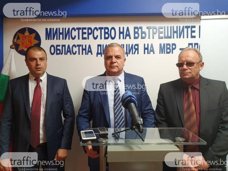 Новият директор на полицията в Пловдив: Ще наблегнем на борбата с наркотиците