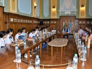 Ученици от Окаяма разказаха на Пловдив за айкидо, Кендама и Момотаро