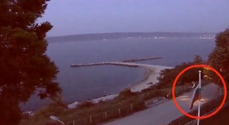 Пълен абсурд! Откраднаха българското знаме от двора на НИМХ-Варна