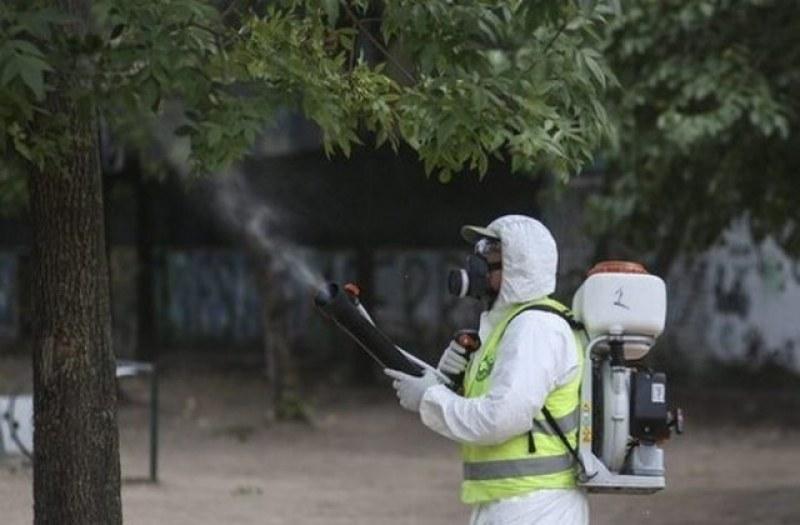 Продължава пръскането срещу комари и кърлежи в Пловдив