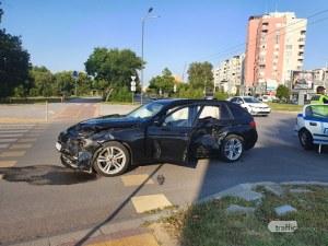 Рено се натресе на БМВ в Тракия, има пострадали