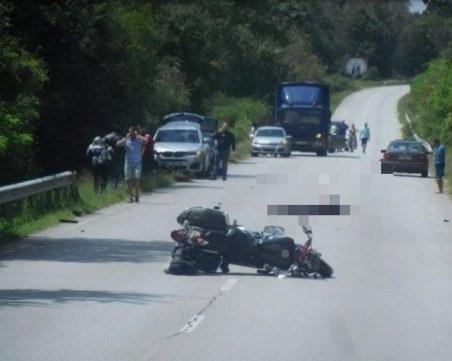Нова жертва на пътя! Моторист загина край село Голец