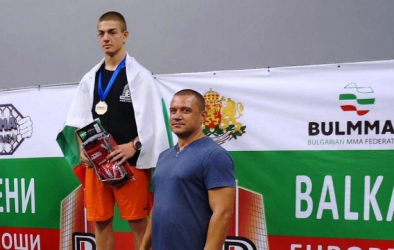 Българин стана световен шампион по ММА за юноши
