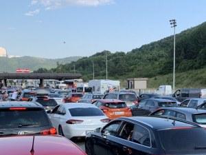 Километрична опашка на сръбско-българската граница, чака се часове