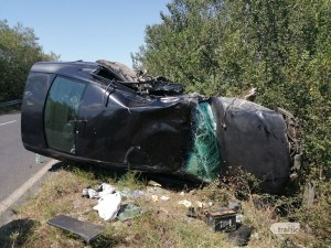 Пиян водач е предизвикал мелето на пътя Пловдив-Карлово