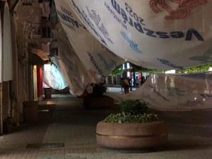Срути се културният покрив на Главната в Пловдив