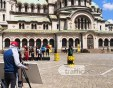 Индийско тв шоу пред столичния храм