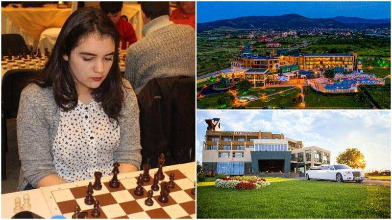 Виктория Радева се изправя срещу любители шахматисти в приятелска игра