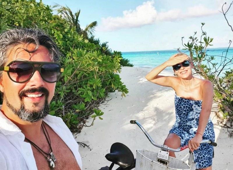 Гала и Стефан разпускат на Малдивите