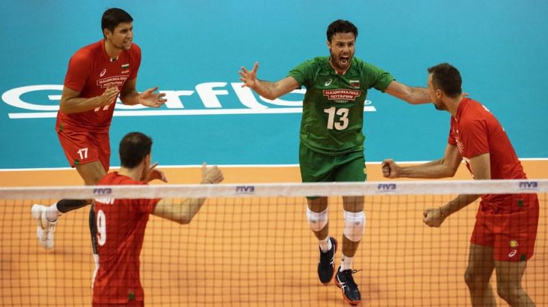 Българските волейболисти разгромиха Египет на олимпийската квалификация