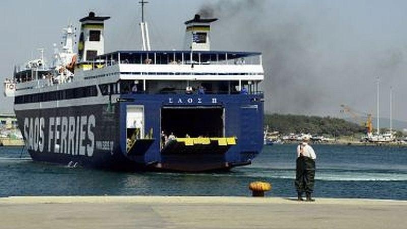 Единственият ферибот Александруполис - Самотраки е повреден, стотици блокирани на пристанищата