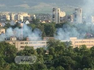 Прах от Северна Африка замърси въздуха в Пловдив