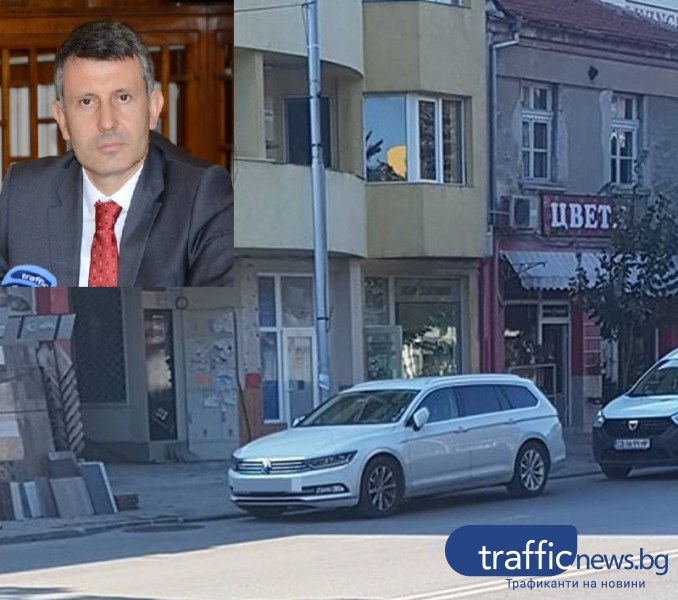 Зам.-кмет на Пловдив спира в нарушение, хванаха го в крачка
