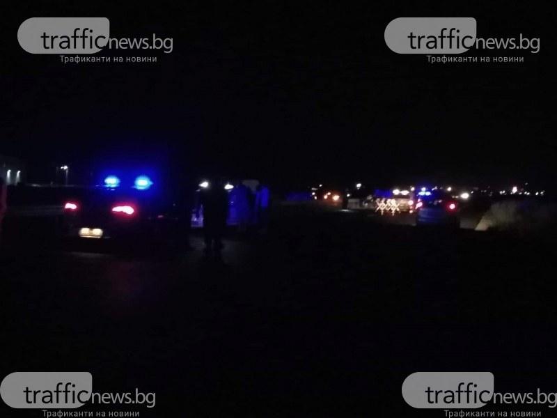 Моторист загина при тежка катастрофа на пътя Пловдив-Асеновград до КЦМ