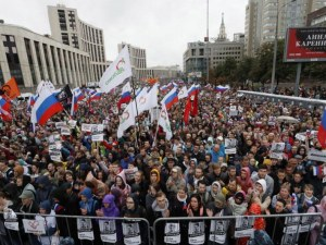 Нови протести в Русия! Десетки хиляди настояха за честни избори, скандираха срещу Путин