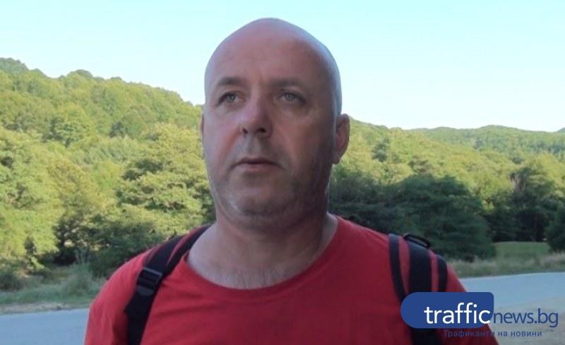 Дивото прасе минало през туриста в Стара планина
