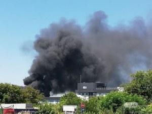 Да не можеш дъх да си поемеш! Черни кълбета дим се носят над Пловдив