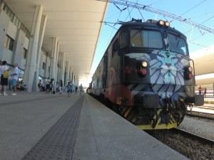 Лъв с криле поведе бързия влак към морето