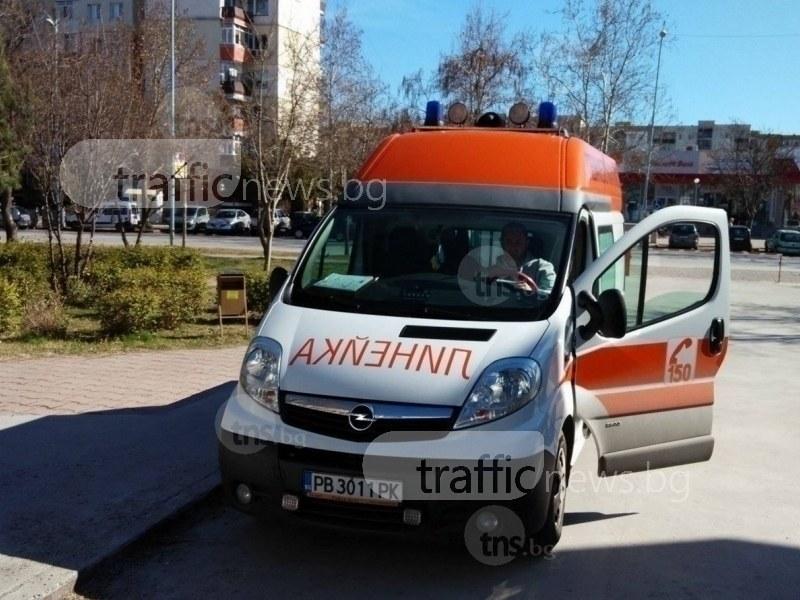 2-годишно дете пострада при катастрофа в Столипиново